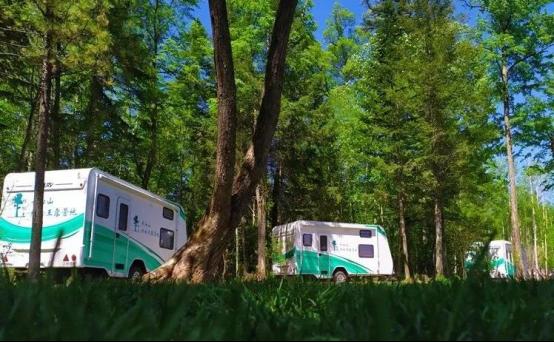 这个藏在森林里的房车营地,浓缩了长白山所有美景