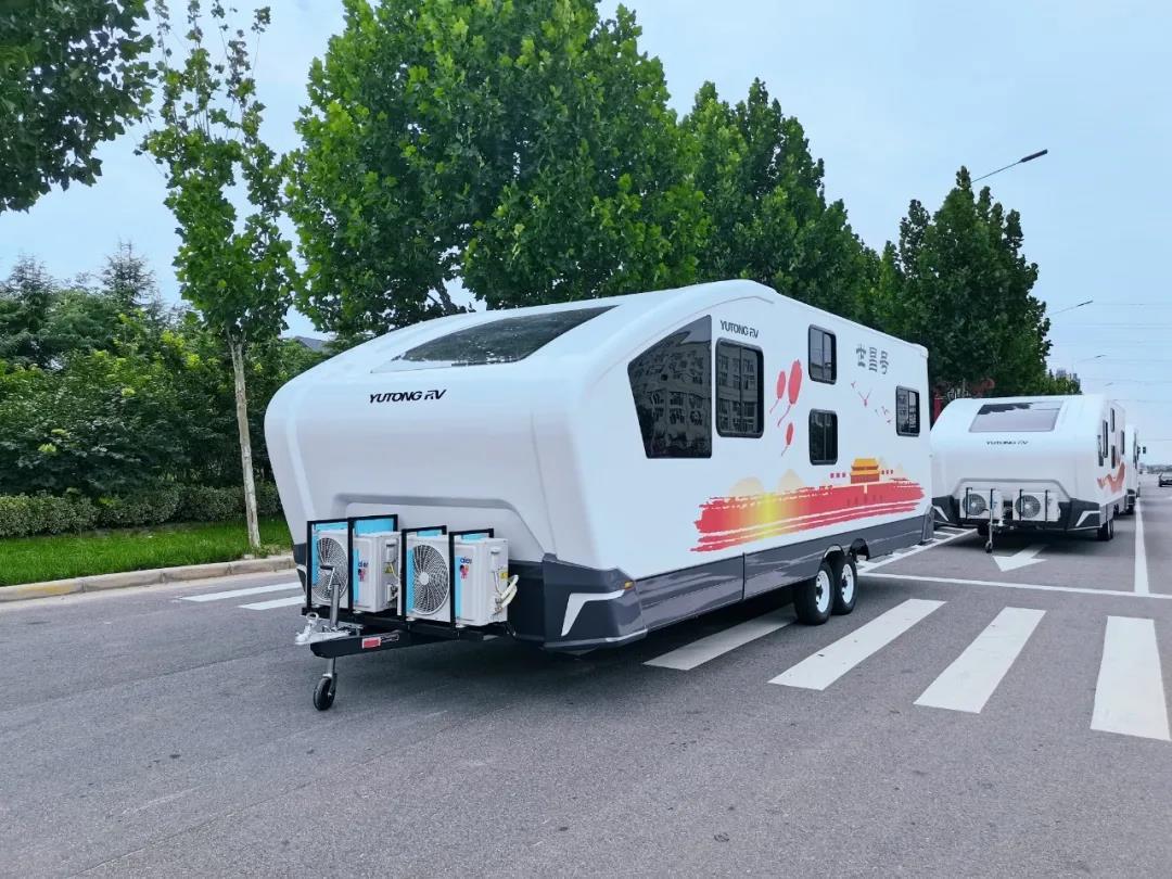 宇通房车正式交付玉林,为红色旅游助力!